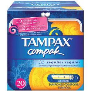 Tampax Compak régulier - 22 tampons