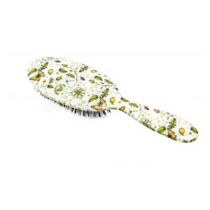 Rock and Ruddle Acoms & Butterflies Grand Format - Brosse à cheveux en poils de sanglier
