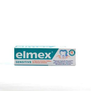 Elmex Sensitive - Dentifrice au fluorure d'amines Olafluor