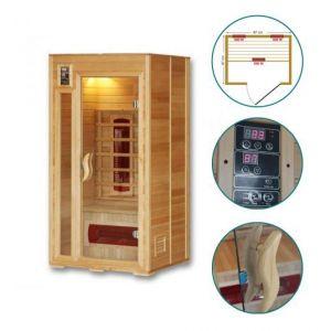 GW Instek Sauna infrarouge Tyrion - 1 place