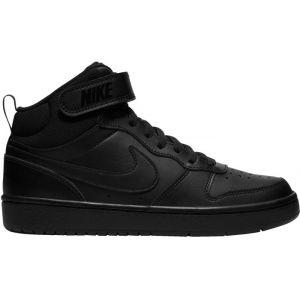 Nike Chaussure Court Borough Mid 2 pour Enfant plus âgé - Noir - Taille 40 - Unisex