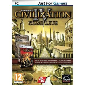 Civilization IV Complete : Le jeu + les extensions Beyond the Sword et Warlords [PC]
