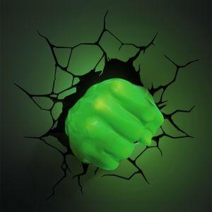 Lansay 10153 - Applique Le poing de Hulk