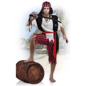 Boland 83845 - Adultes Costume Pirate Jack Blanc