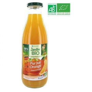 Jardin Bio Pur jus d'orange