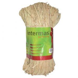 Intermas Gardening Raphia naturel (100 g) - Poids : 100 g