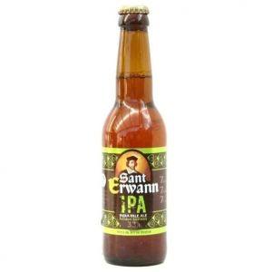 SANT ERWANN Bière Blonde IPA 33 cl 7 %