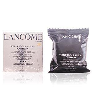 Lancôme Teint Idole Ultra Cushion 03 Beige Pêche - Recharge poudre compacte longue tenue et haute couvrance