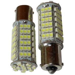 Aerzetix : 2x ampoule 24V P21W R10W R5W 102LED SMD blanc pour camion semi-remorque porte de garage portail