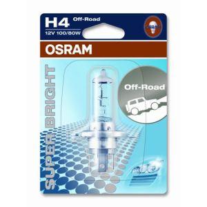 Osram 62203 - Ampoule auto (non homologuée sur route) type H4 Blanche 12 Volts 18 watts