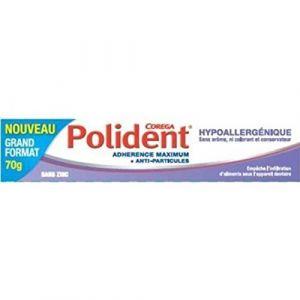 Polident Creme adhésive hypoallergénique
