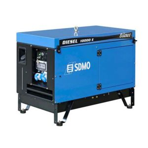 Diesel Groupe électrogène monophasé 10000 E Silence