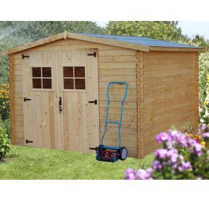 Foresta 2833.02 - Abri de jardin en bois 28 mm 7,86 m2