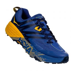 Hoka One one speedgoat 3 bleu jaune homme 44 2 3