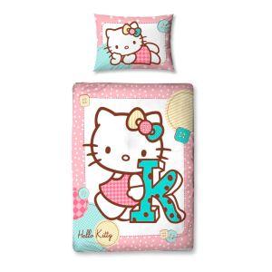 Character World Hello Kitty Stitch - Parure de lit (120 x 150 cm)