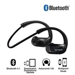 Campus Cross'Fit MIC-BT18B - Écouteurs sport Bluetooth
