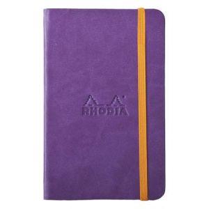 Rhodia 118630C Rhodiarama violet A6 - Webnotebook format 9 x 14 cm, 96 pages