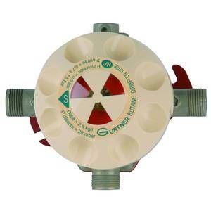 Gurtner D.I.B.B.P Détendeur Inverseur Butane Basse Pression 2.6Kg/h-28mb