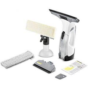 Kärcher WV 5 Premium Plus laveur de vitres électriques Noir, Blanc 0,1 L, Aspirateur pour fenêtre