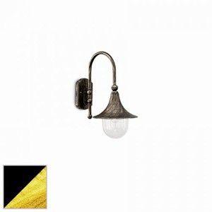 Ideal lux 024134 - Applique extérieure classique Cima noir aluminium