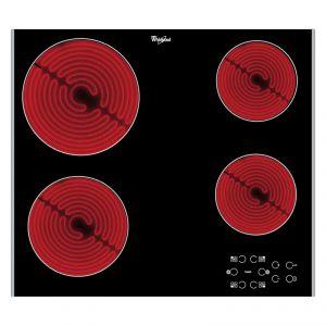 Whirlpool AKT8090LX - Table de cuisson vitrocéramique 4 foyers