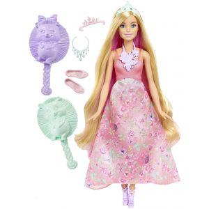 Mattel Barbie chevelure brune 3 en 1 Dreamtopia