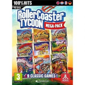 Rollercoaster Tycoon - Mega Pack 9 jeux classiques [PC]
