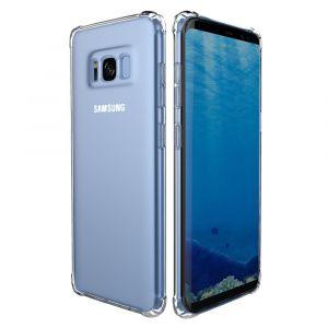 Galaxy S8 Plus Coque Etui Housse Silicone Gel Antichocs Transparent Samsung