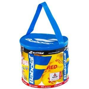 Babolat Play et séjour mousse rouge Tennis Ball (24 boulettes)