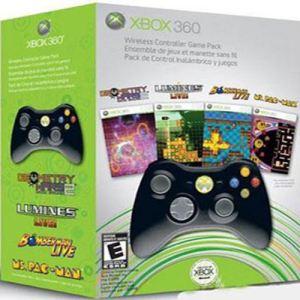 Microsoft Pack Manette sans fil Xbox Live Arcade