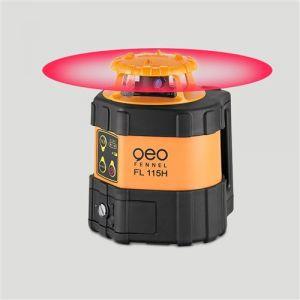 Geo Fennel Laser rotatif FL115H IP65 + Cellule FR 77 MM 900m