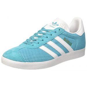 Adidas Gazelle, Baskets Basses Homme, Bleu (Energy Blue/Footwear White/Energy Blue), 40 EU