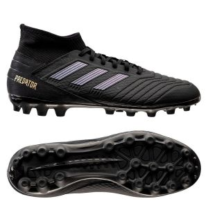 Adidas Chaussures de foot Chaussure Predator 19.3 Terrain synthétique Noir - Taille 42,41 1/3