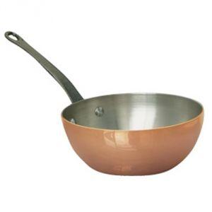 De Buyer 6464.16 - Sauteuse bombée cuivre-inox Inocuivre First Classe 16 cm
