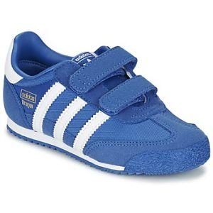 new arrival ee4a5 573f9 Adidas Dragon OG Comfort Strap, Baskets Basses mixte bébé, Bleu (BlueFTWR