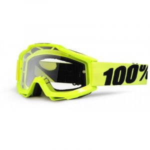 100% Accuri jaune - Masque 2013 écran transparent
