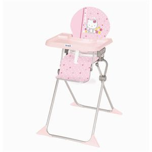 Brevi Chaise haute Junior petites fleurs Hello Kitty