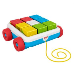 Fisher-Price Mon wagon cubes à tirer - 6 mois et +
