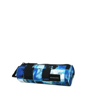 Quiksilver Trousse Pencilo Print Turkish Sea Resin Check bleu