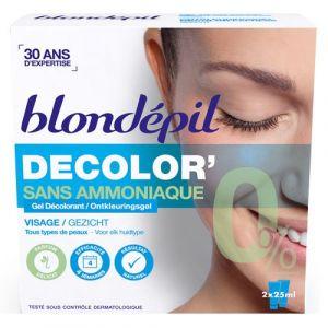 Blondépil Decolor' - Gel décolorant visage sans ammoniaque