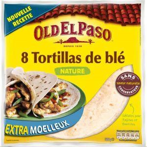 Old el paso Tortillas de blé souples à garnir