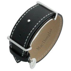 Mac Douglas MACMM1N - Bracelet pour femme en acier et cuir