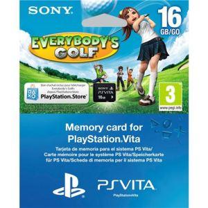 Everybody's Golf + carte mémoire 16 Go [PS Vita]