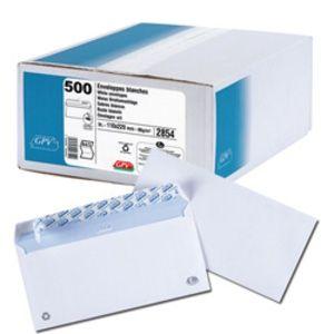 Gpv 2854 - Enveloppe Every Day 110x220, 80 g/m², coloris blanc - boîte de 500
