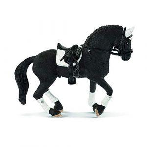 Schleich Figurine étalon Frison concours équestre