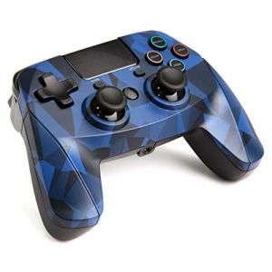 Snakebyte Manette sans fil Bluetooth GAME:PAD 4S pour PS4 - bleu camouflage