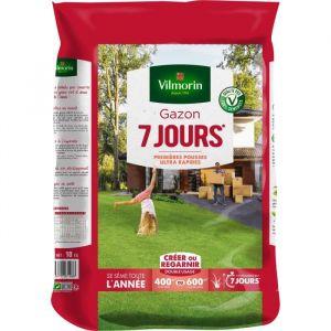 Vilmorin Semences de gazon 7 jours - 10 kg