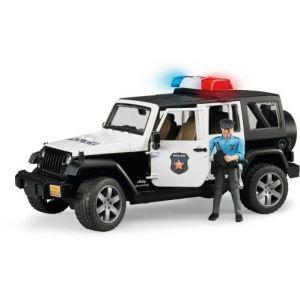 Bruder Toys 2526 - Jeep police avec policier