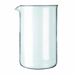 Bodum 1512-10 - Verre de rechange pour cafetière à piston 12 tasses