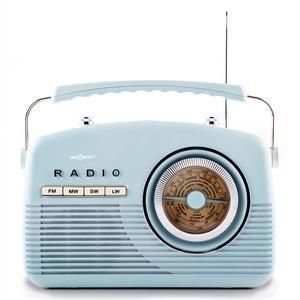 OneConcept NR-12 - Radio cuisine rétro fifties FM AM